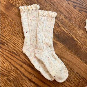 Free people speckled socks
